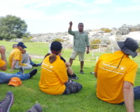 Bankwest Corporate Volunteers with Perth NRM and Stirling Natural Environment Coastcare (SNEC) at Brighton Beach.